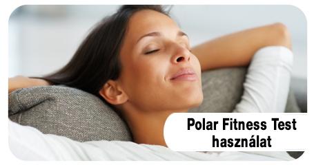 Polar Fitness Teszt használat