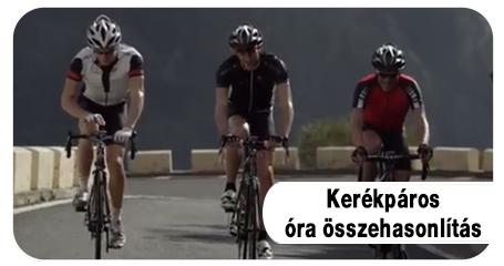 Polar kerékpáros órák összehasonlítás