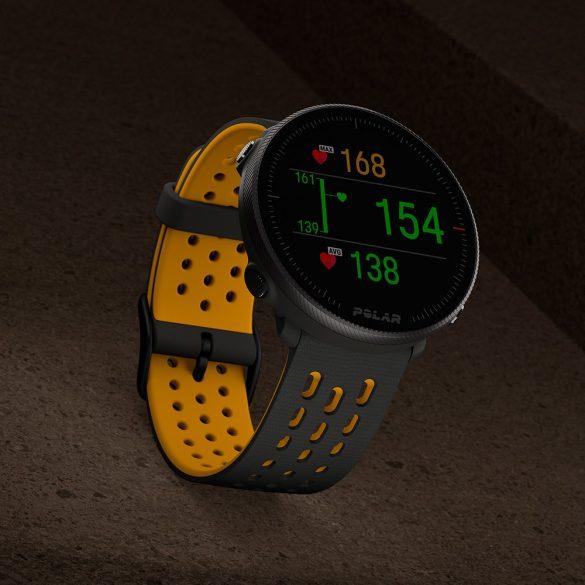 Polar Vantage M2 Grey-Yellow GPS multisport óra