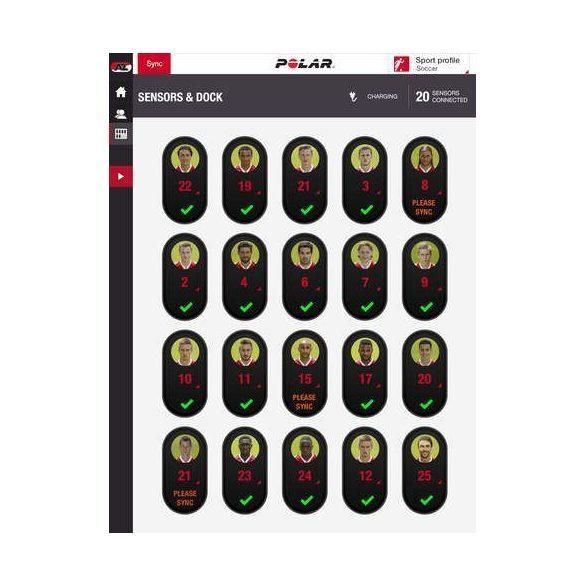Polar Team Pro Basic Set - csapat edzési rendszer