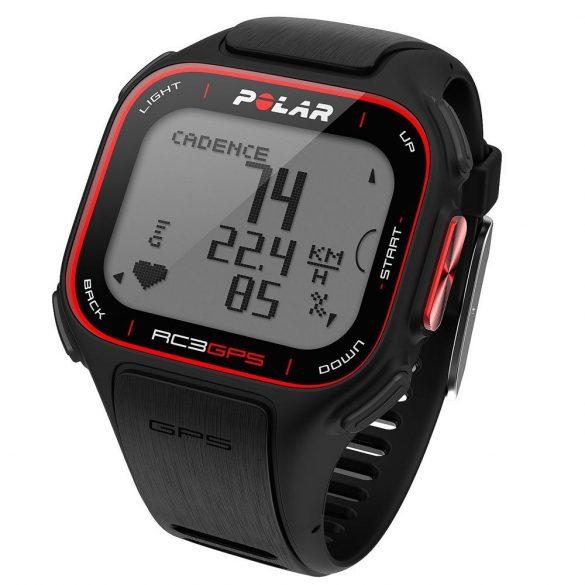 POLAR RC3 GPS pulzusmérő óra