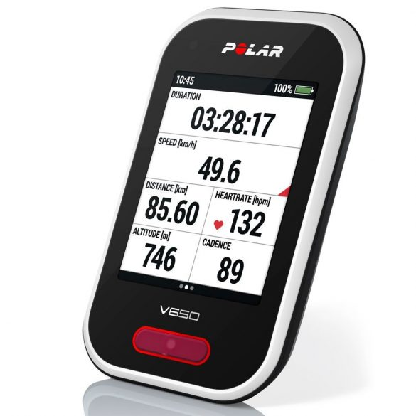 Polar V650 GPS kerékpáros óra