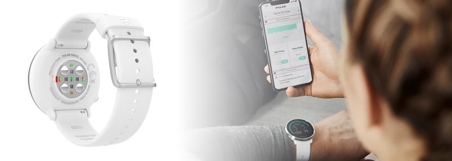 Polar Ignite Fitness óra GPS vevővel