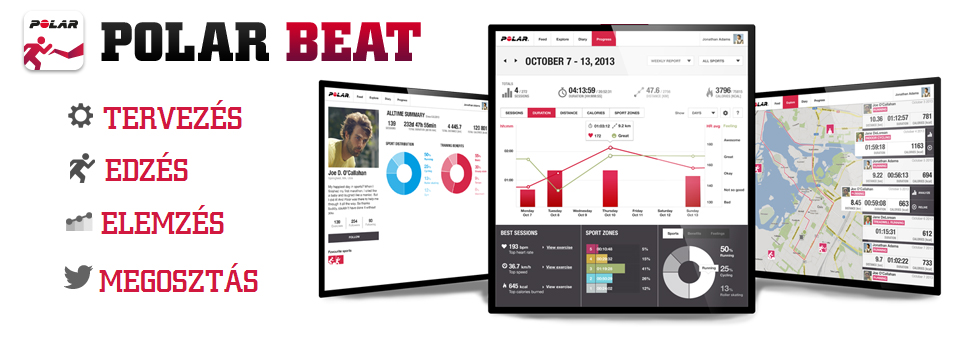 Polar Beat mobil alkalmazás